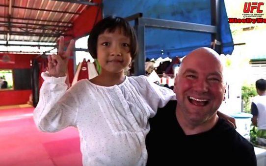 สุดตื้นตัน! ประธาน UFC พบเด็กไทยที่เคยช่วยชีวิตเมื่อ 7 ปีก่อน(คลิป)
