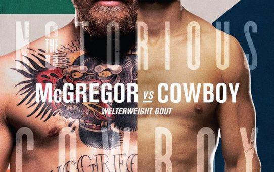 ห้ามพลาด!!! ถ่ายทอดสด UFC เช้าวันอาทิตย์ที่ 19 ม.ค. นี้
