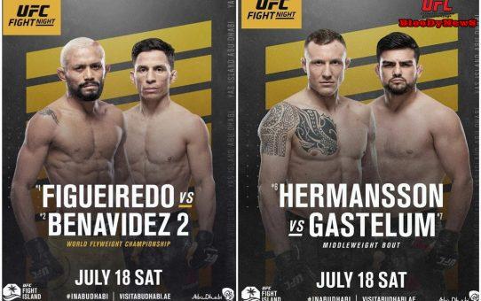 ประกาศคู่เอกและรองคู่เอกประจำศึก UFC Fight Night 173