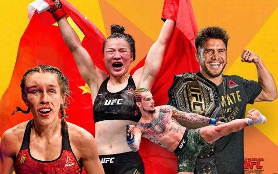 ESPN ประกาศรางวัล UFC Midyear Awards