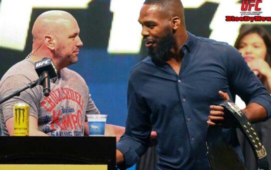 """ประธาน """"Dana White"""" เปิดโอกาสให้ """"Bones"""" ขึ้นชิงแชมป์รุ่น heavyweight"""