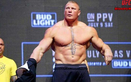 """""""Brock Lesnar"""" ยังคงไม่มีความชัดเจนในเส้นทางนักสู้ของเขา"""