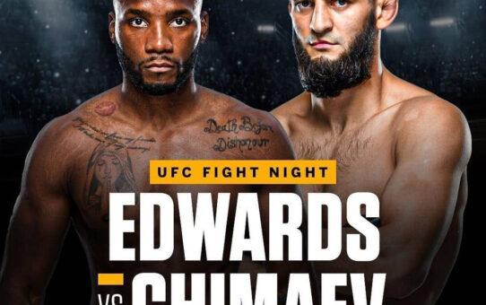 Edwards กลับคืนอันดับ 3 อีกรอบหลังมีข่าวสู้กับ Khamzat