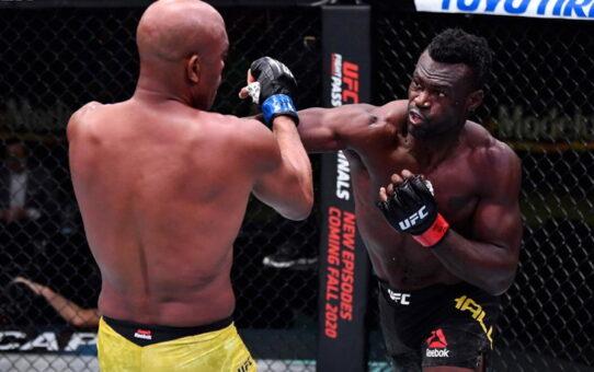 """""""ยูไรส์ ฮอลล์"""" อัด """"แอนเดอร์สัน ซิลวา"""" กองยก 4 ศึก UFC Fight Night"""