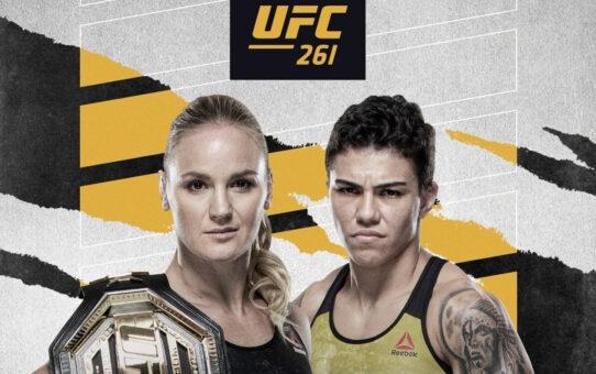 ประกาศคู่มวยอย่างเป็นทางการในศึกการแข่งขัน UFC 261