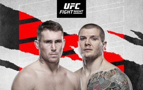 ประกาศคู่เอกอย่างเป็นทางการประจำศึก UFC on ABC 2 วันที่ 11